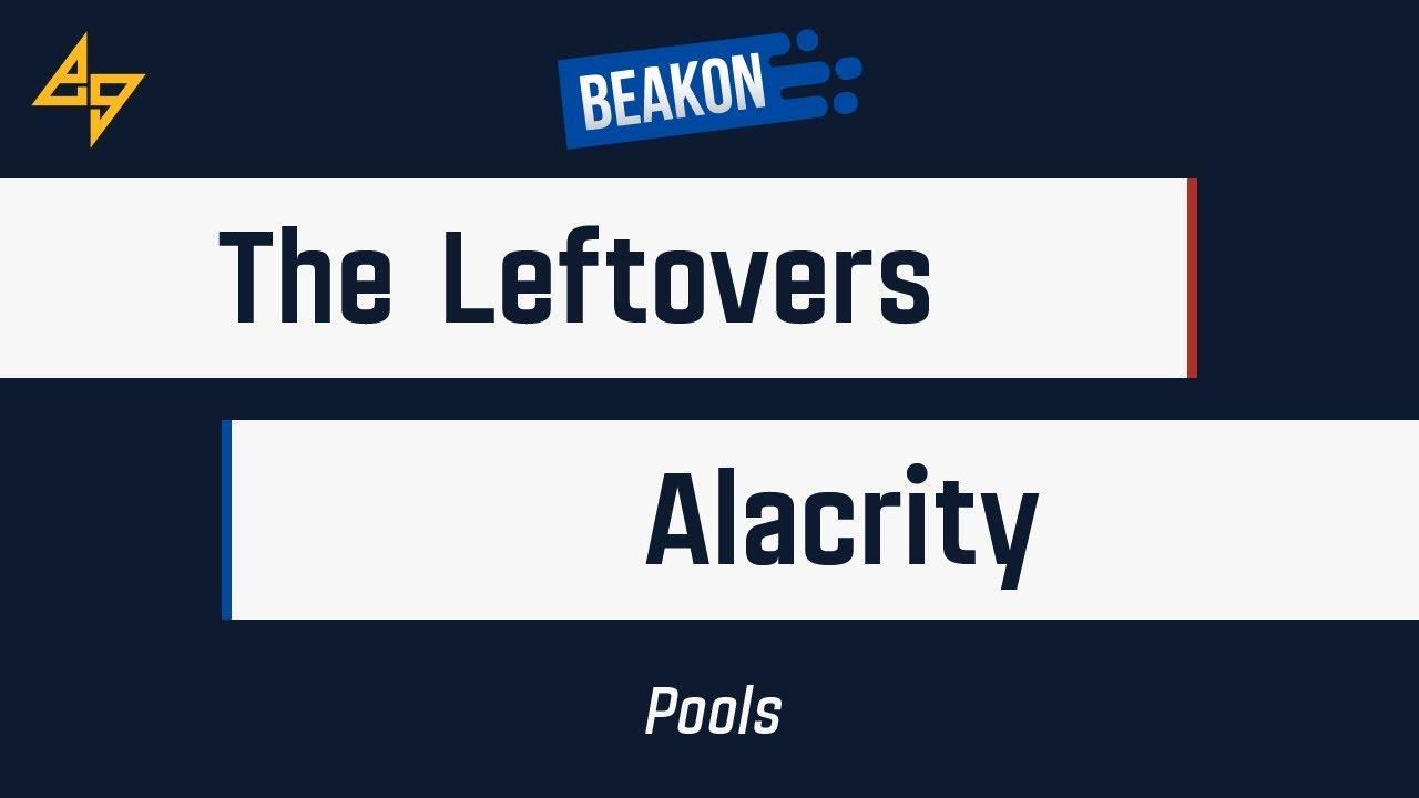 Beakon 2018: The Leftovers vs  Alacrity - Pools Wave B Round 4 - Splatoon 2