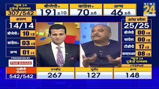 News24 Today's Chanakya Poll में मोदी की सुनामी