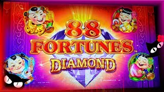NEW GAME 88 FORTUNES DIAMOND 💎 MAKIN' CASH 💰 The Slot Cats 🎰😺😸