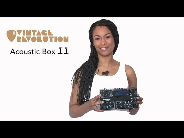 Vintage Revolution Acoustic box II Introduction