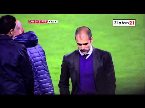 Lionel Messi Amazing Hat-Trick vs Zaragoza