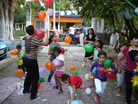 piñata de globos   Dale Dale No Pierdas El Tino MOV