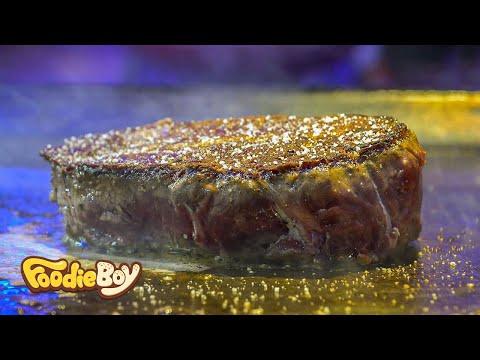 Oyster Blade Steak / Korean Street Food / Gambas Factory, Busan Korea