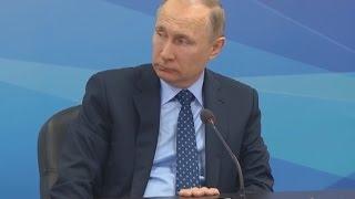 Визит Владимира Путина в Красноярск