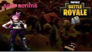 Fortnite Battle Royal solo scrims#1 discord in desc xbox EU