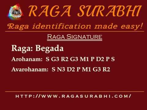 Raga Begada: Arohanam, Avarohanam and Alapana | Raga Surabhi
