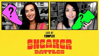 Tamara Dhia vs Reina Koyano In A SneakerBattle | #LIFEATCOMPLEX