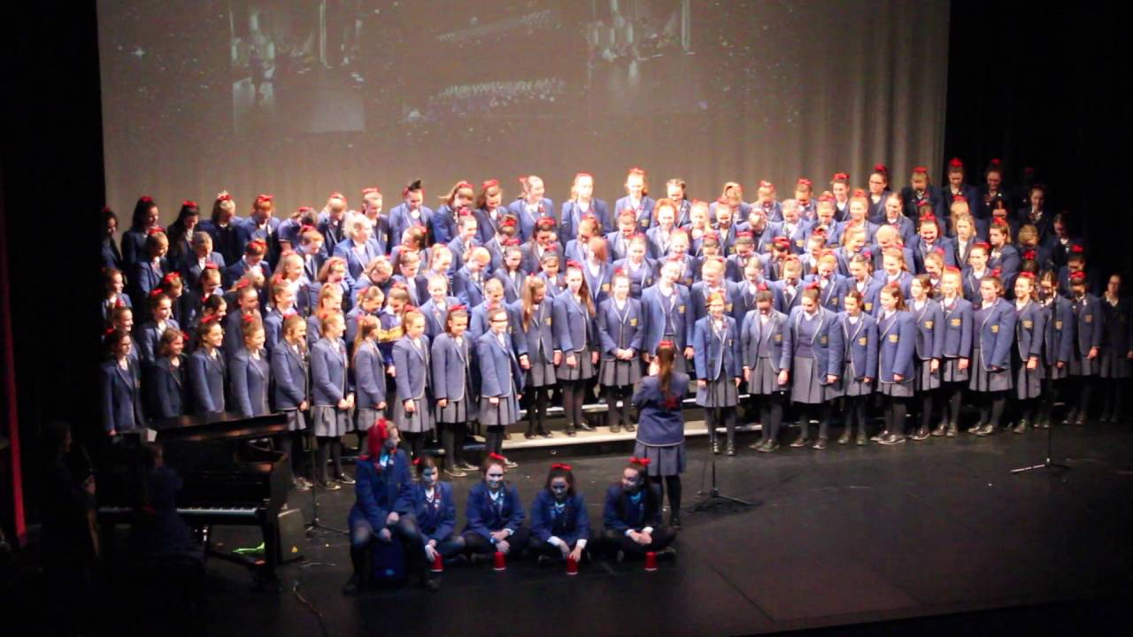 Senior House Choir Competition 2016
