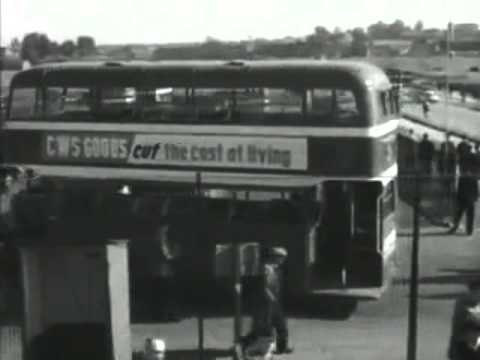 Nationalised Bristol Corporation Buses In 1951 - British Transport Films BTF from Work In Progress