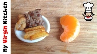 MINI STEAK ONION RINGS & CHIPS RECIPS