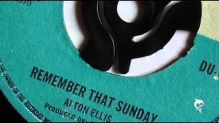 Alton Ellis - Remember That Sunday (1970)