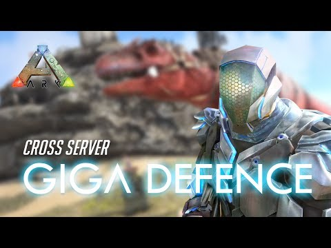 Cross server Giga defence / PvP Official [PS4]