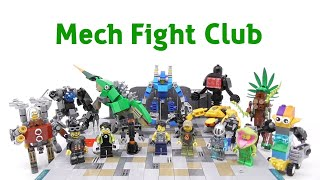 Gambar cover LEGO - Mech Fight Club - Stop Motion Build