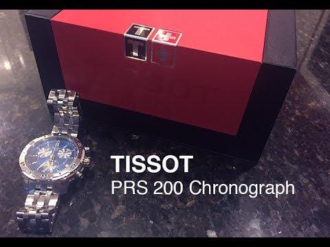 f95588428 TISSOT PRS 200 Chronograph - YouTube