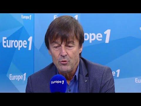 """Nicolas Hulot : """"Mon obsession c'est ma loi hydrocarbure"""""""