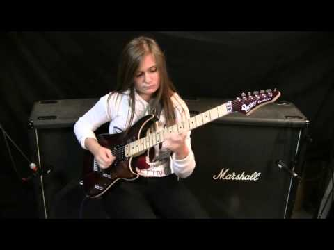 Steve Vai  Paganini 5th Caprice Crossroads Cover HD by Tina S
