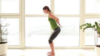 Суставная гимнастика. Часть 2:  грудной, поясничный отдел, колени, стопы.