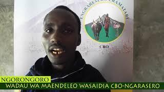 Wadau wa Maendeleo Waboresha Uhifadhi Bonde la Ngarasero-Ngorongoro