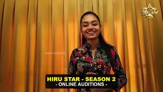 Polwatta Gallage Imasha Anne Nethmi Silva   Hiru Star - Season 02   Online Auditions