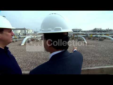 """IRAN: EXCLUSIVE VISIT TO ONE OF WORLD""""S LARGEST OIL FIELDS"""