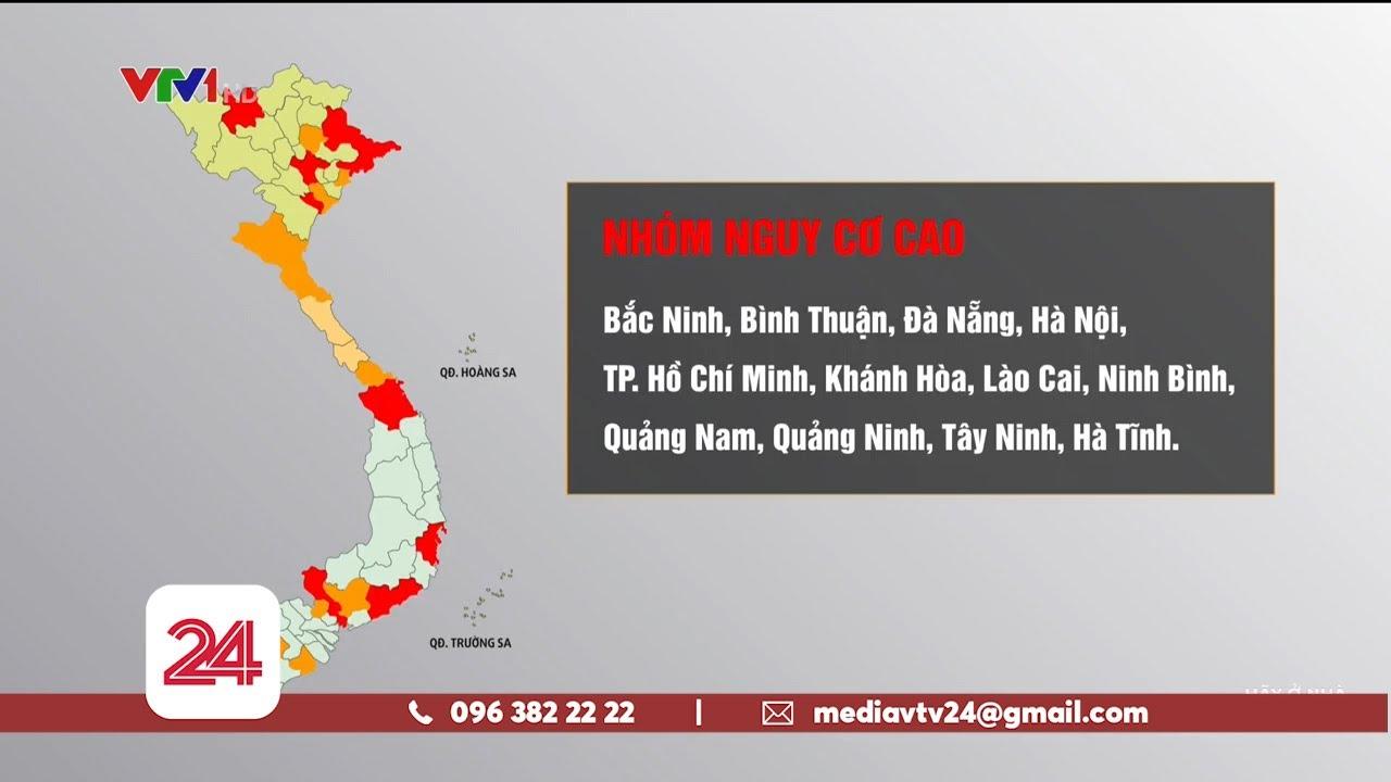 12 địa phương ở nhóm nguy cơ cao tiếp tục thực hiện Chỉ thị 16 của Chính phủ | VTV24