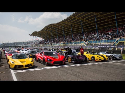 50$ MILLION HYPERCAR GATHERING | Gumpert IE, Zenvo TSR-S, Rimac Concept One, Ford GT& More