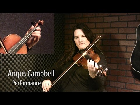 Angus Campbell - Canadian Fiddle Lesson by Patti Kusturok