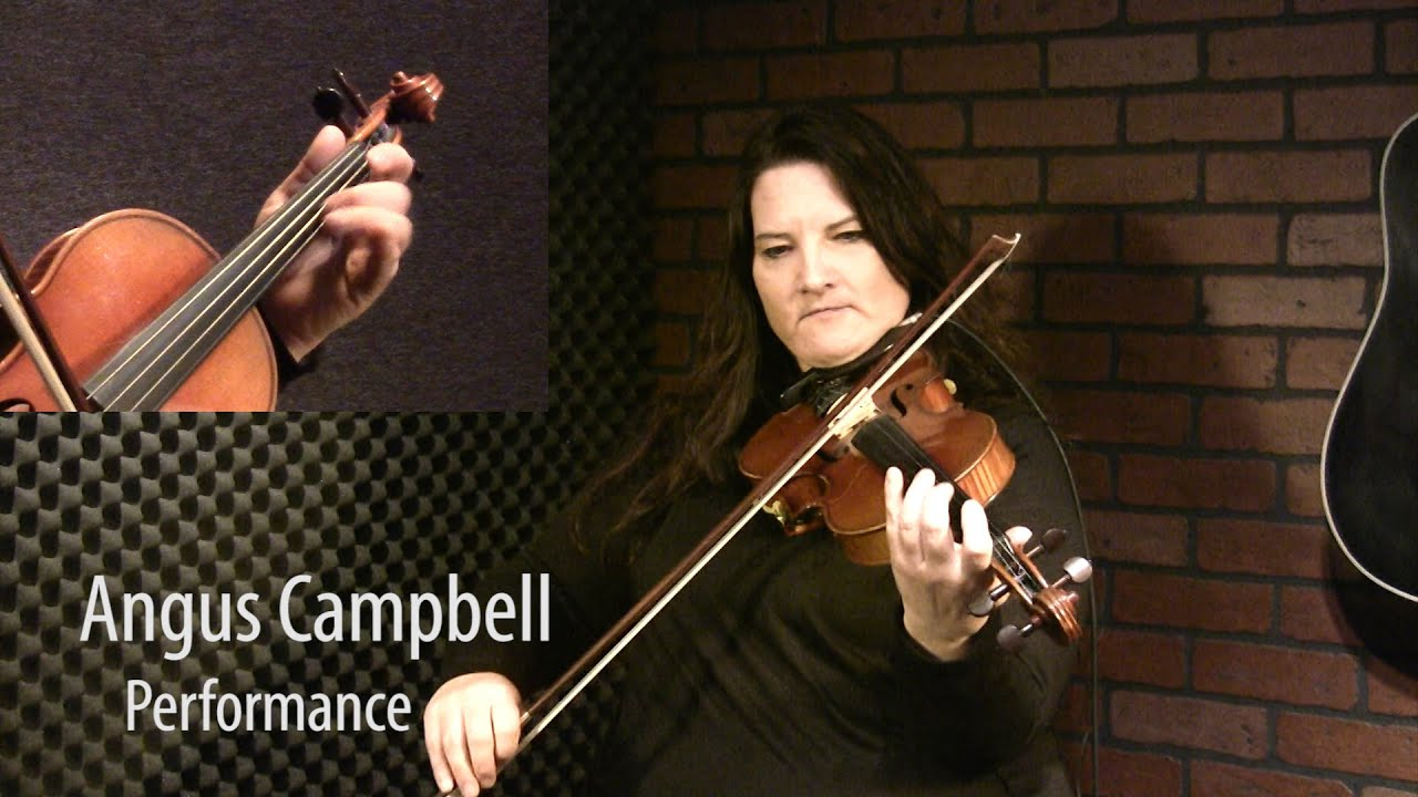 Angus Campbell - Canadian Fiddle Lesson ...