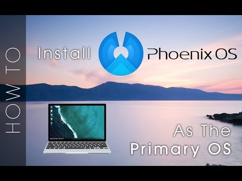 Installing PhoenixOS as a main OS (RIP RemixOS) - TechRodent Guides