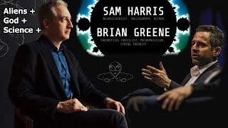 Sam Harris & Brian Greene (Audio Fixed)