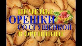Печенье орешки со сгущенкой вареной рецепт как приготовить  в формочках