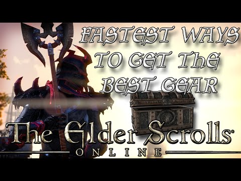 TOP 5 WAYS to get the BEST GEAR in ESO (Elder Scrolls Online Tips for PC, PS4, and XB1)