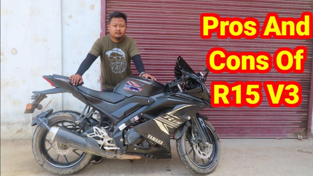 Advantage And Disadvantaged Of Yamaha R15V3 Bs6 / Naga Motovlogger