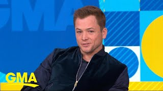 Baixar Taron Egerton on playing Elton John and the gift he got from the superstar l GMA