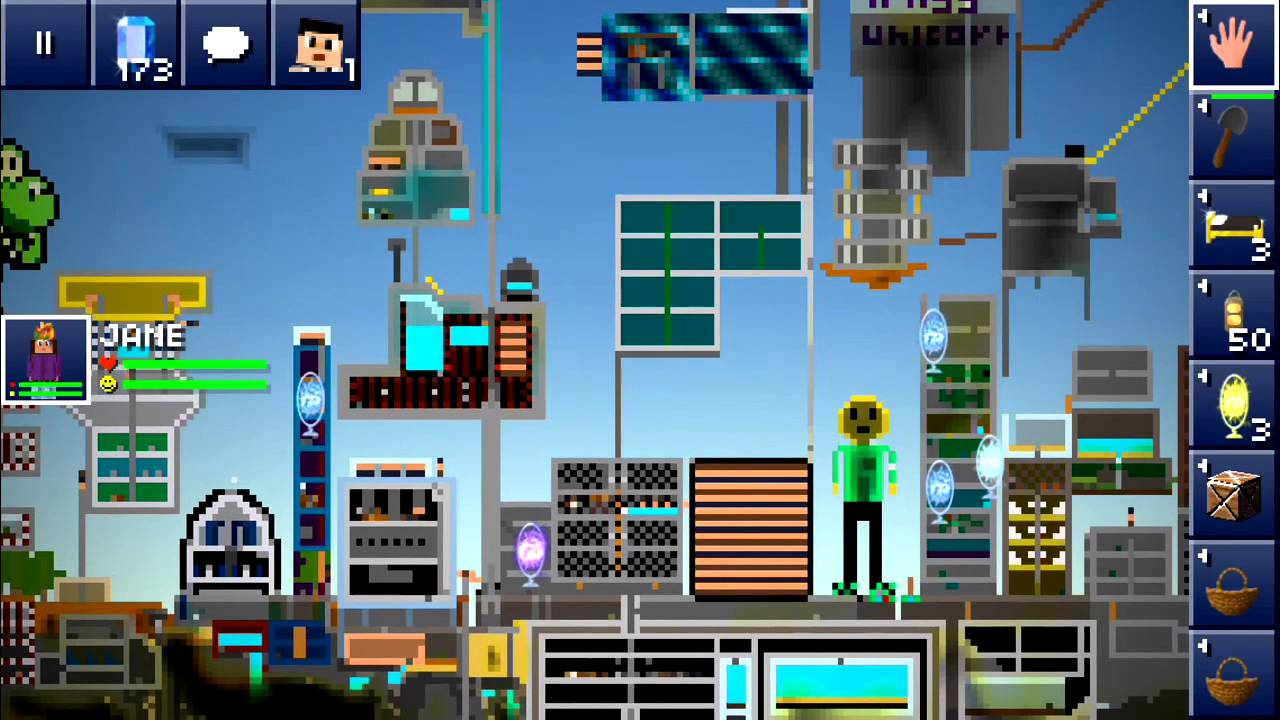 Make It Happen >> The Blockheads - Pixel Art and Server Decisions - YouTube
