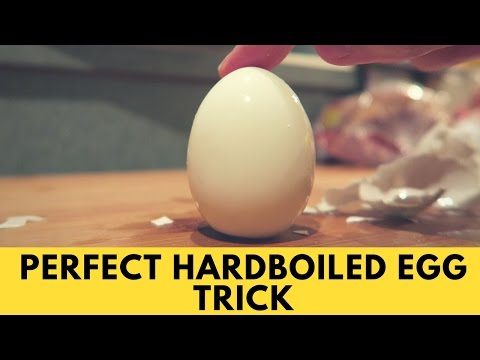 Life Hack Easy Peel Boiled Eggs