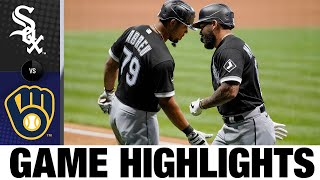 José Abreu homers, leads comeback win | White Sox-Brewers Game Highlights 8/3/20
