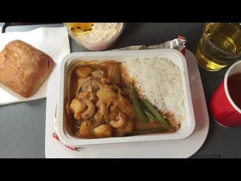 [Quick review] Qantas A330-200 OLD ECONOMY class   QF117 SYD-HKG