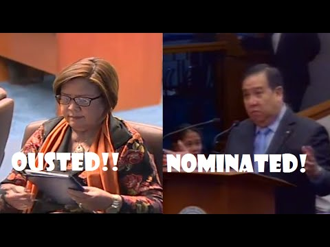 Ousted Chairperson Leila De Lima Replaced By Senator Richard Gordon Full Story
