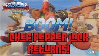 Skylanders Superchargers: Chef Pepper Jack Returns (Official Leak w/ Gameplay)