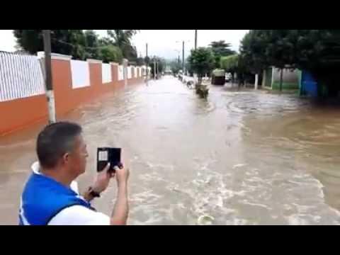 Inundación en TRES ZAPOTES