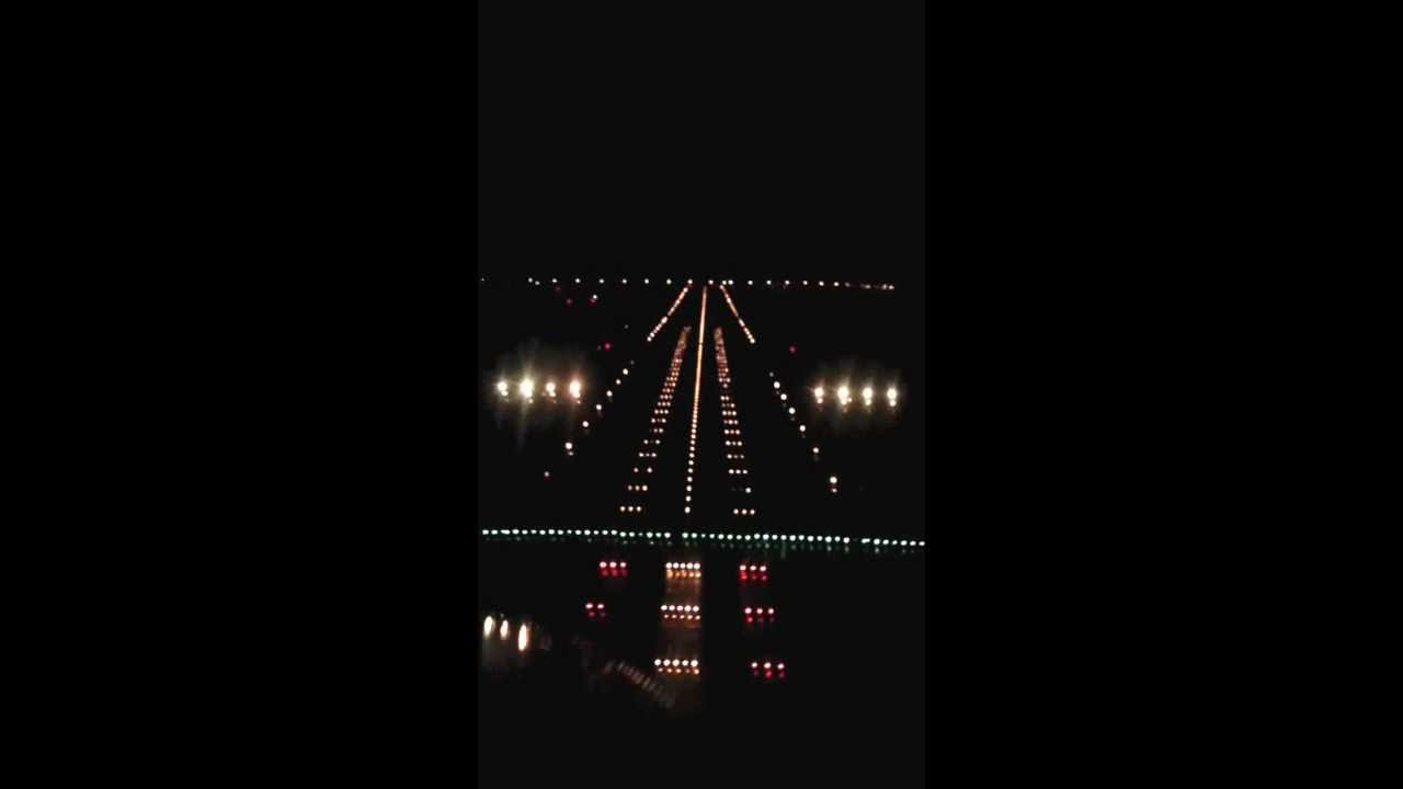 Keflavik Airport Bikf Iceland Extreme Night Approach