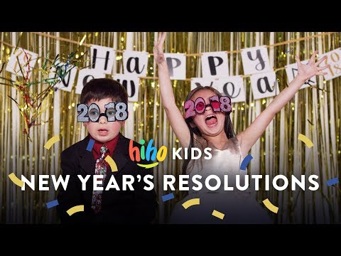HiHo Kids Share Their New Years Resolution | HiHo Kids