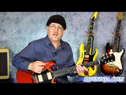 I Fought the Law - Bobby Fuller ( Guitar Lesson Part 1 )