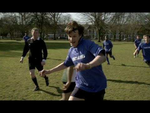 Doctor Who - The Lodger - The Doctor plays Football - YouTube