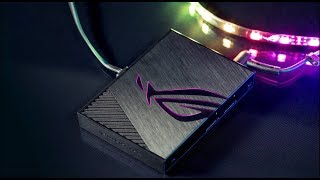 ROG Aura Terminal - RGB lighting beyond your imagination! | Republic of Gamers