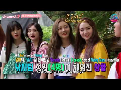 [ENG] Channel :P Ep.3 - Channel Fishing