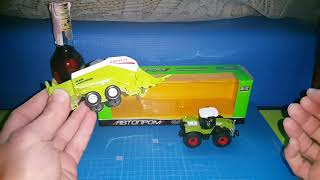 Обзор Автопром Трактор зеленый и Harvest (не злоупотребляйте алкоголем)