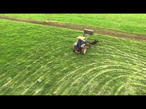 "New Zealand Farming. UAV Video ""Once in New Zealand Dairy Farm"""
