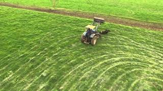 New Zealand Farming. UAV Video